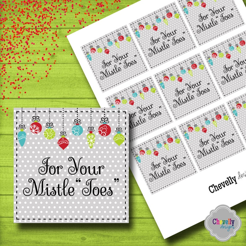 photograph about For Your Mistletoes Printable identified as For Your Mistletoes Present Tag - Fast Down load - Christmas003 - Printable - Xmas reward tag, vacation present