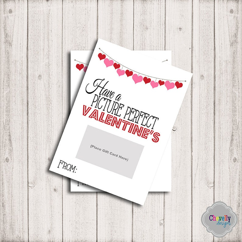 instant download movie valentine gift card printable  etsy