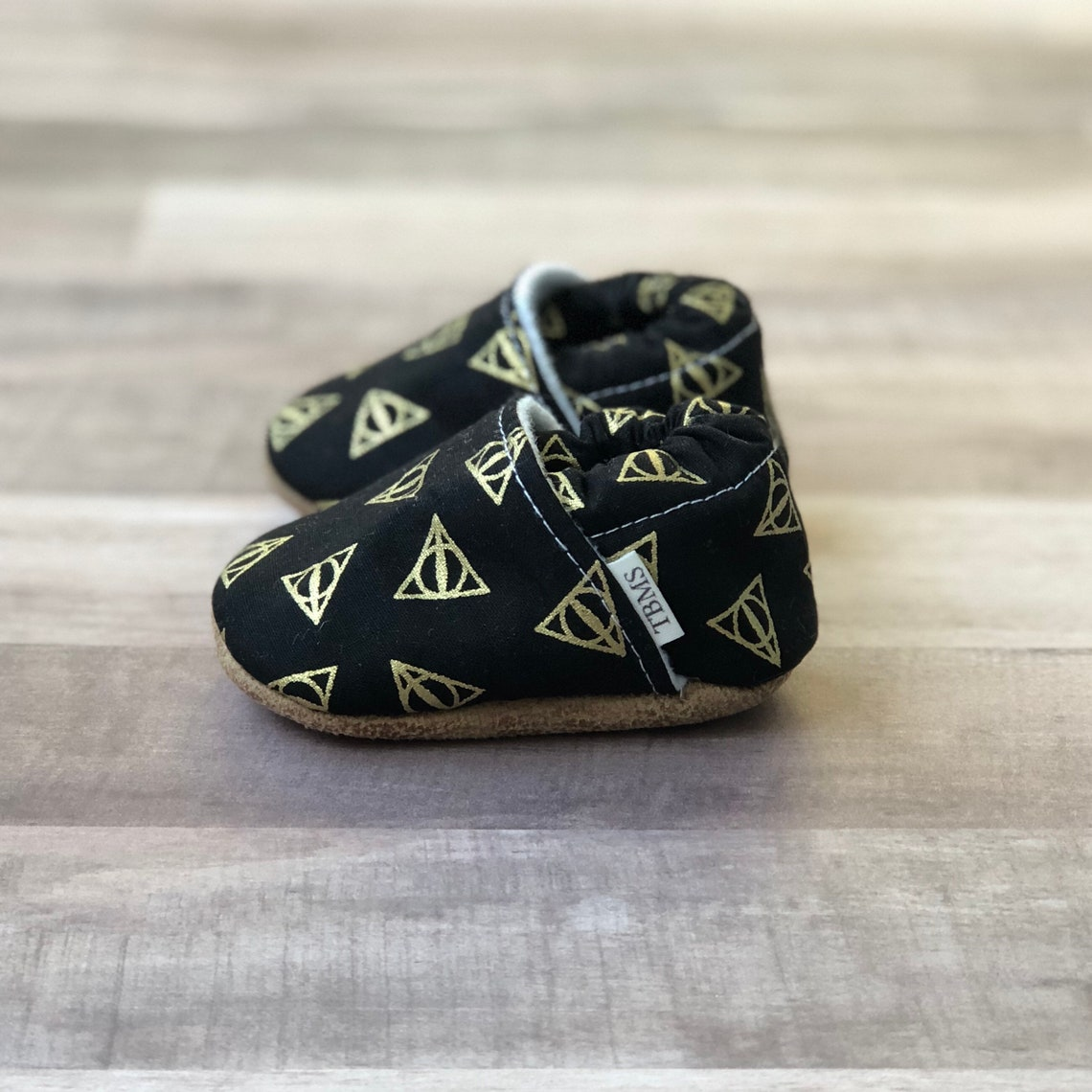 Harry Potter Baby Moccasins  Deathly Hallows image 0