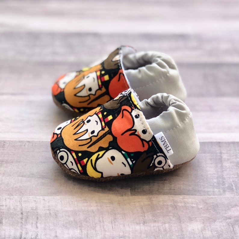 84d9662b6f756 Harry Potter baby moccasins, Deathly Hallows baby moccasins, harry potter  baby shoes, personalized baby shoes