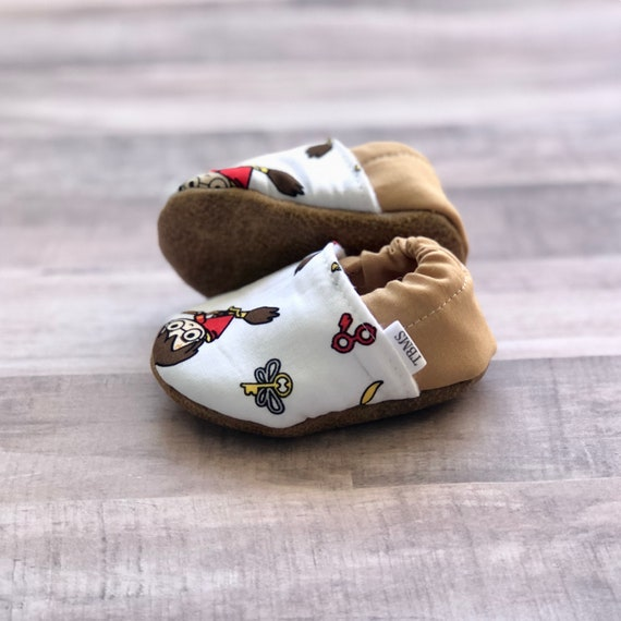Harry Potter Baby Moccasins Harry and Quidditch | Etsy