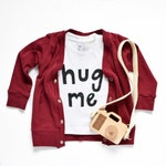 Maroon || Cardigan || Baby, Infant or Toddler