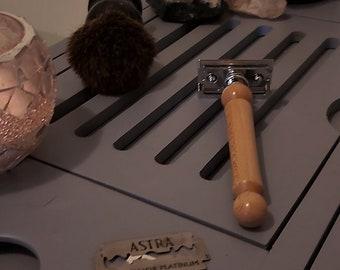 Sycamore Handmade Wooden Safety Razor, Shaver