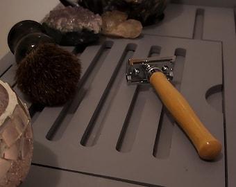 Yellowheart Handmade Wooden Safety Razor, Shaver