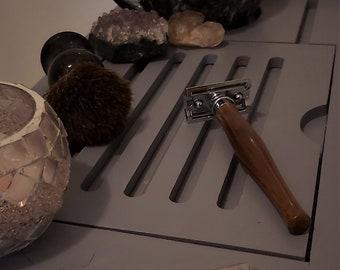 Black Walnut Handmade Wooden Safety Razor, Shaver