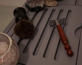 Padauk Handmade Wooden Safety Razor, Shaver