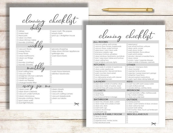 image relating to Cleaning List Printable known as Cleansing Record, Editable Cleansing Listing Printable, Spring Cleansing, Once-a-year Cleansing Checklist, Editable Record, Cleansing Printable.