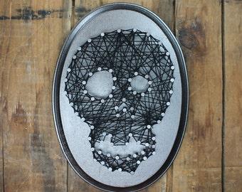 Nail Art Pattern Read Sign Nail String Art Wood Crafts Etsy