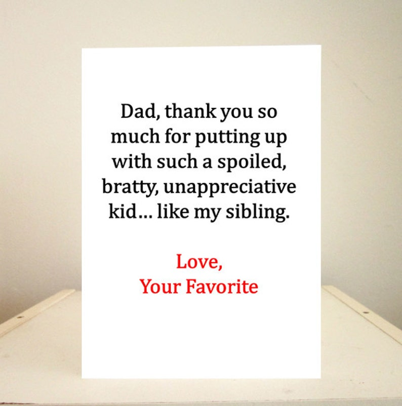 Fathers Day Card Birthday Funny
