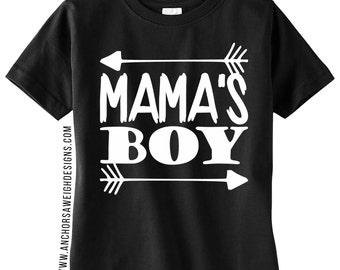 Mama's Boy Youth Tee