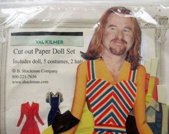 Val Kilmer Paper Doll