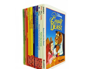 Disney Ladybird Book Collectors Set, 6 Book gift Set, Snow Shite, Tarzan, Bugs Life, Aladdin, Dumbo, Mr Toad, Beauty and the Beast...
