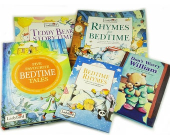 Ladybird Book Bedtime Reading Gift Set, Bedtime Rhymes