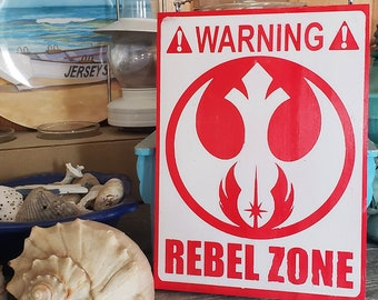 Rebel Zone Home & Garden Nerdy Warning Sign