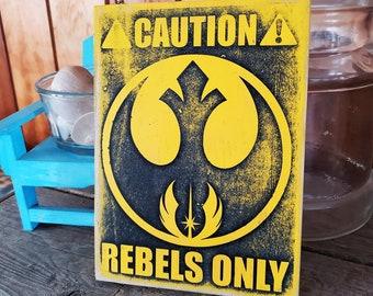 Rebel Zone Home & Garden Nerdy Warning Sign
