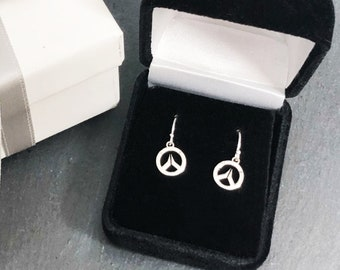 Overwatch Sterling Silver Children's Dangle Earrings