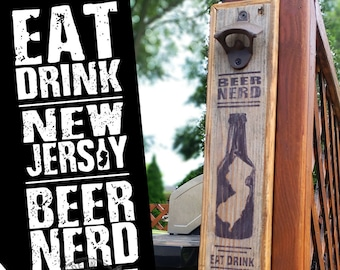 Eat Drink New Jersey Beer Nerd: BLACK Antique Rustic Bottle Opener