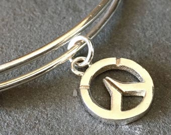 Overwatch Sterling Silver Adjustable Bracelet