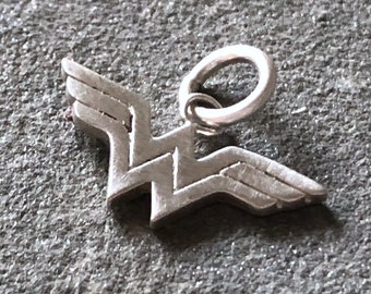 Wonder Woman Sterling Silver Charm