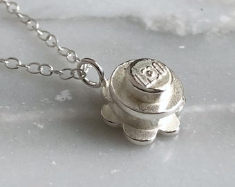 LEGO Daisy Sterling Silver Necklace