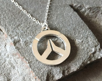 Overwatch Sterling Silver Grande Sterling Silver Necklace