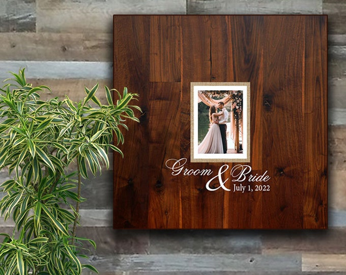 """Featured listing image: 24"""" x 24"""" Wedding Guest Book Signature Frame"""