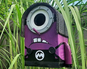 Toucan The Evil Minion Birdhouse