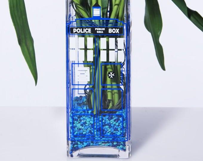 Featured listing image: British Police Box Vase