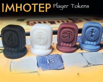 Imhotep: Builder of Egypt Player Tokens