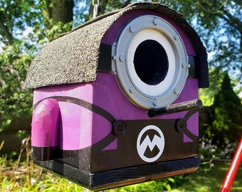 Sam the Evil Mini Minion Birdhouse