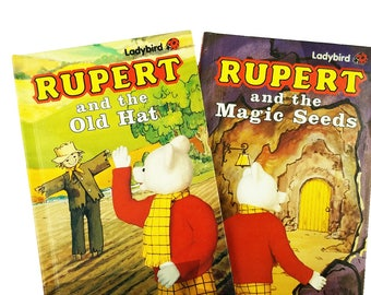 Rupert the Bear Ladybird Book Set