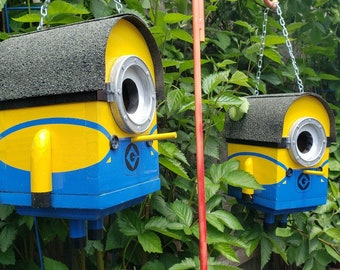 Brian The Minion Birdhouse | The Minions Large Bird House