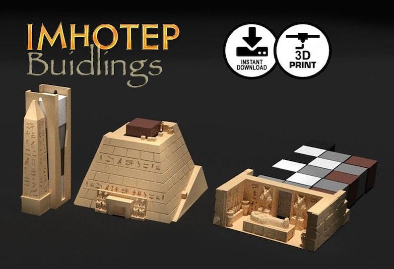 Imhotep Standard Edition Buildings 3d Printer Digital Download image 0