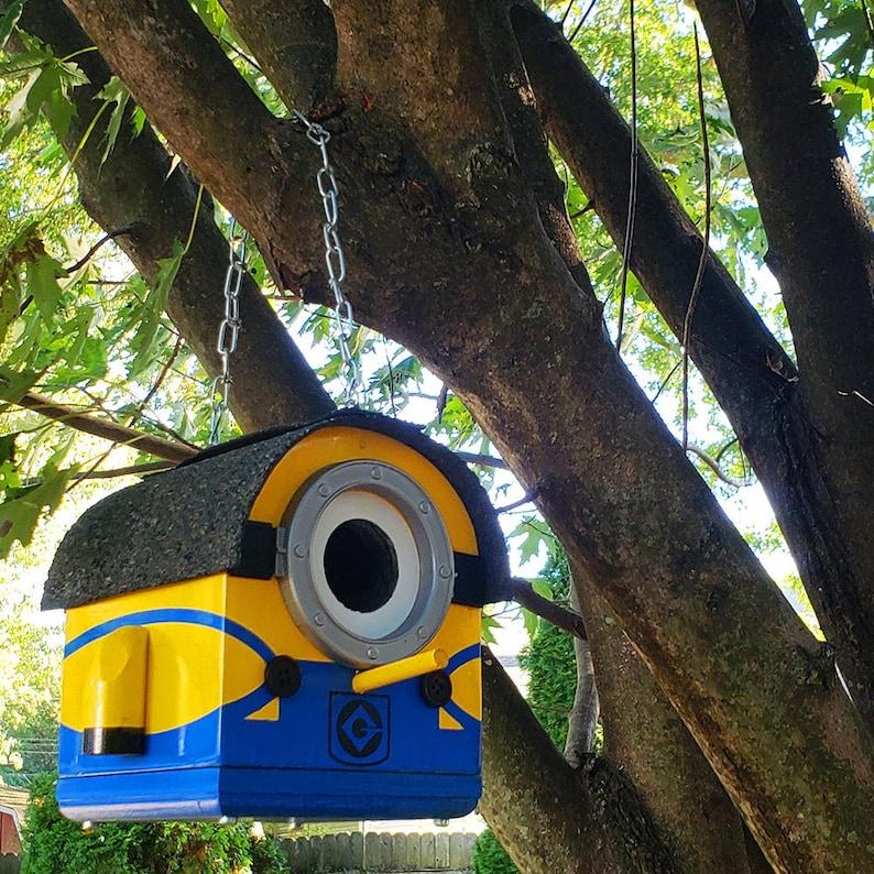 Marvin the Mini Minion Birdhouse  The Minions Small image 0