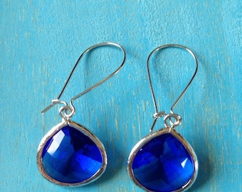 Midsummer Night Teardrop Earrings