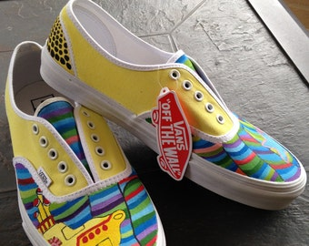 b00c8a8d7f Yellow Submarine Beatles  Themed Vans NEW