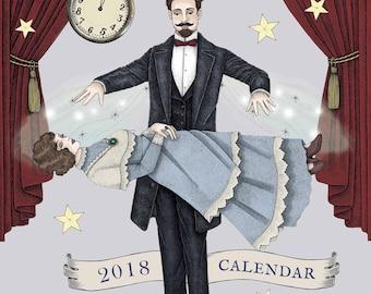 2018 CALENDAR - Magicians & Illusionists