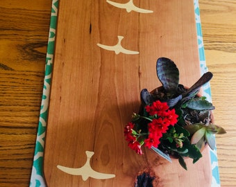 Serving Board/ Cherry Wood/ Cutting Board
