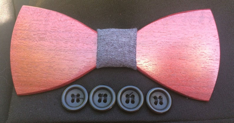 Wooden bow Tie Bowties bowtie Make Your Mark