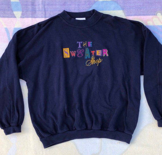 1990's 'The Sweater Shop' Embroidered Jumper