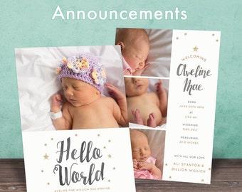 Custom Birth Announcements