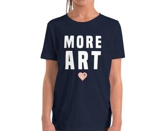 MORE ART Youth Short Sleeve T-Shirt