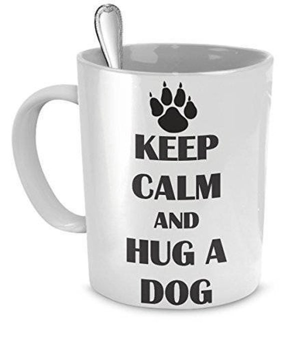 Novelty Ceramic Mug Dog Funny Pet KEEP CALM AND WALK A LURCHER