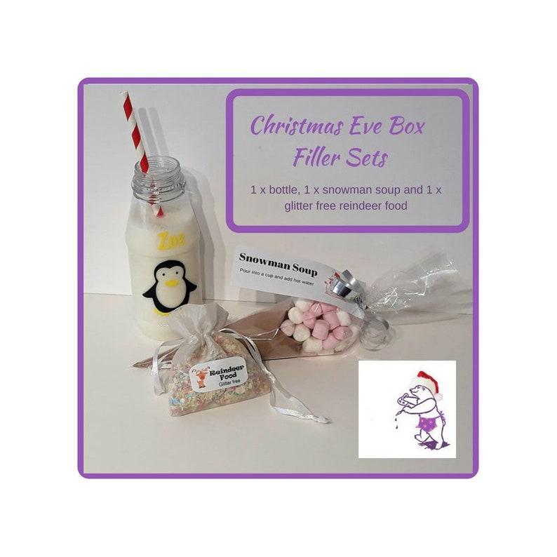 Christmas I Love Milk Bottles Keyring Birthday Stocking Filler Gift