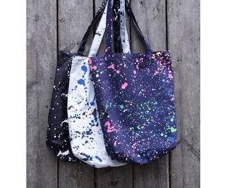 Canvas Tote Bag, Market Bag, Reusable shopping Bag, Eco Friendly Bag, Grocery Bag, Reusable Tote Bag, Reusable Grocery Bag,