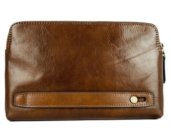Mens leather clutch 8d1dbfa1d7