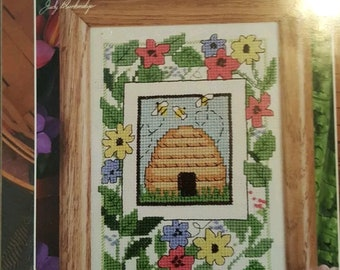 Designs for the Needle Counted Cross Stitch Kit Bumble Bee Hive