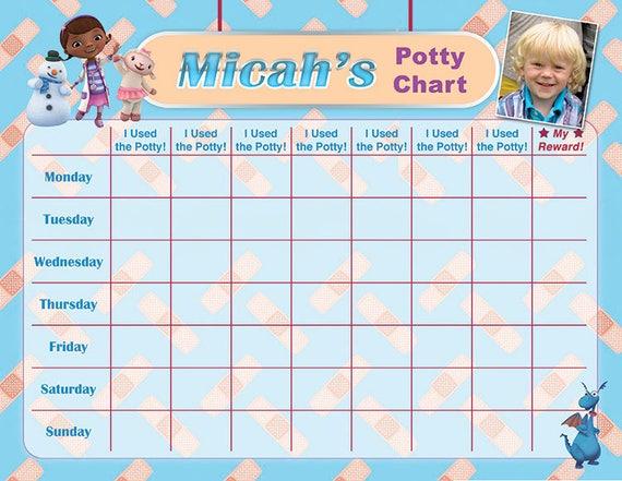 sticker chart potty training