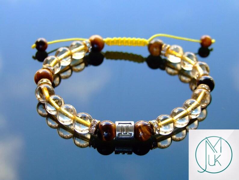 Natural Tiger/'s Eye Amulet Healing Charm Pendant Chakra Reiki Necklace Gift UK