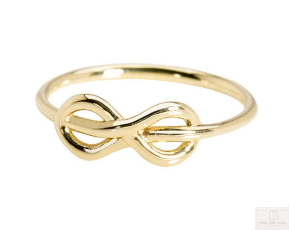 Infinity ring silver infinity jewelry gift for girlfriend anniversary gift womans infinity minimalist ring best friend ring gift for wife